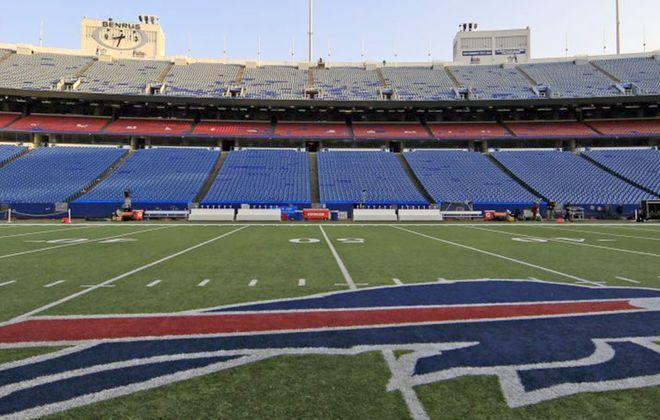 New Era Field will get new turf. (News file photo)