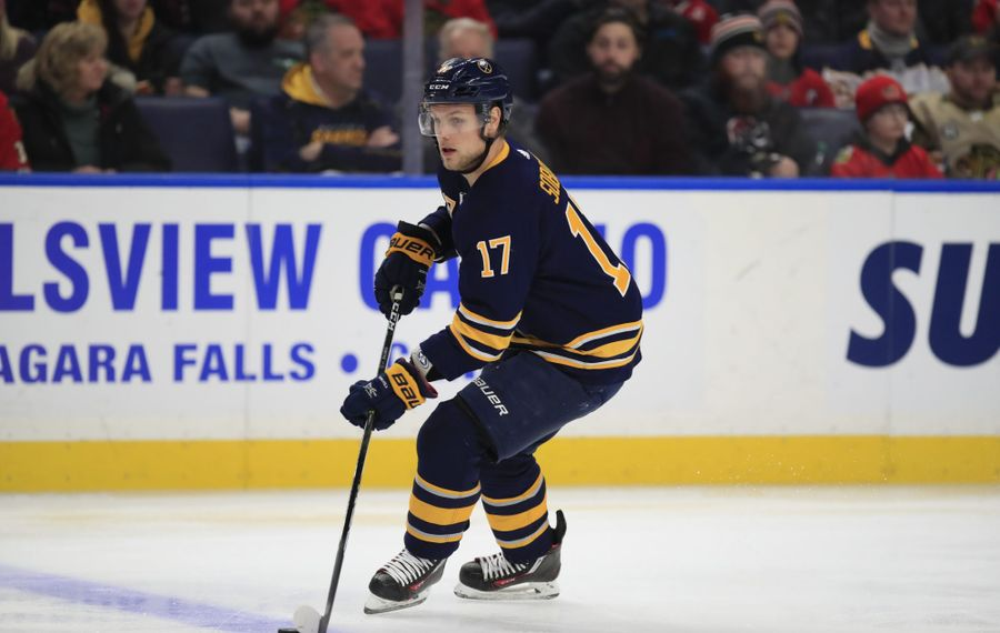 Vladimir Sobotka had five goals in 69 games with the Buffalo Sabres last season. (Harry Scull Jr./News file photo)
