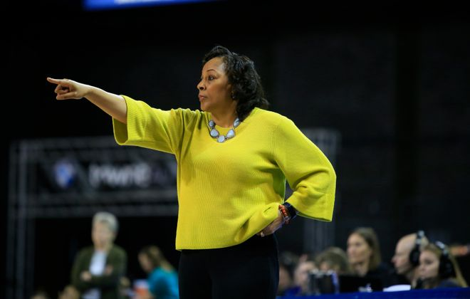University at Buffalo coach Felisha Legette-Jack is the highest paid female coach in the SUNY system (Harry Scull Jr./Buffalo News file photo)
