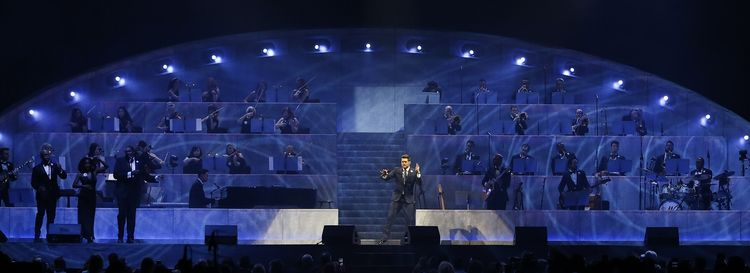 """Michael Bublé considers Buffalonians """"the best of Canada and the best of the United States, smushed into one cookie."""" (Sharon Cantillon/Buffalo News)"""