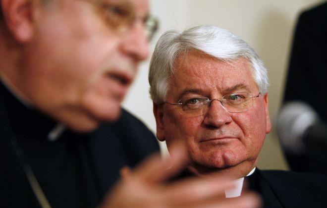 Monsignor David Slubecky in 2007. (Harry Scull Jr./News file photo)