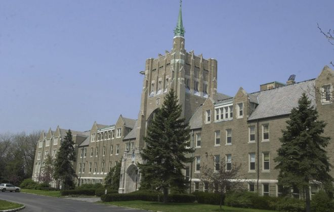 The former St. Mary of the Angels Motherhouse in what is now Amherst State Park on Mill Street. The town is close to ending a long, multimillion-dollar legal fight stemming from a 2002 accident at the site. (John Hickey/Buffalo News file photo)