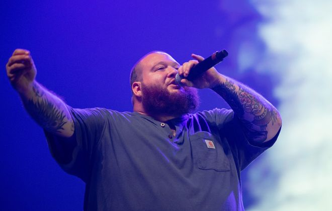 Rapper Action Bronson will perform at the Town Ballroom. (Getty Images)