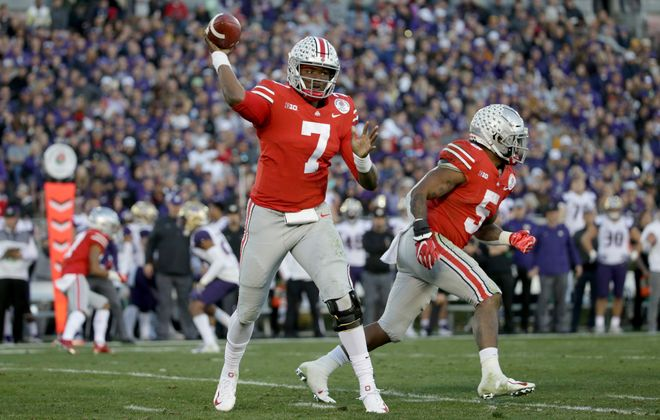 The Giants are projected to take quarterback Dwayne Haskins in the NFL draft. (Getty Images)