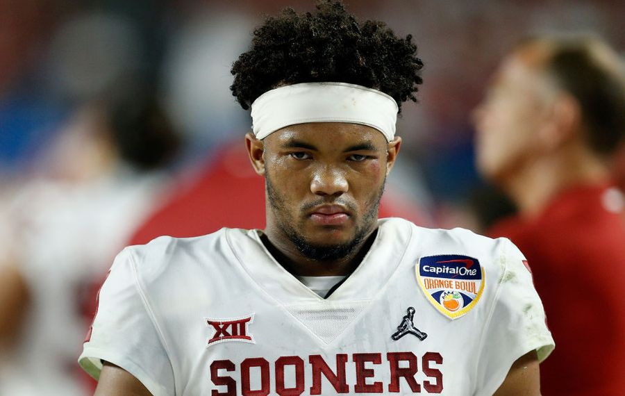 Oklahoma's Kyler Murray. (Getty Images)