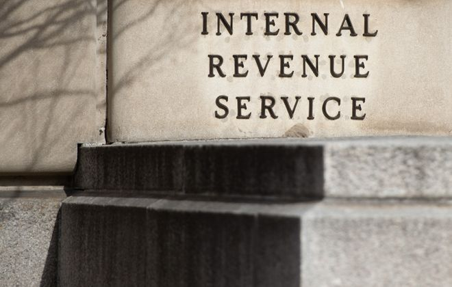 The Internal Revenue Service said the average refundso far this yearwas downnearly 9 percent, to $1,949 from $2,135 a year ago. (SAUL LOEB/AFP/Getty Images)