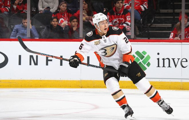 New Buffalo Sabres defenseman Brandon Montour  has played three NHL seasons. (Getty Images)