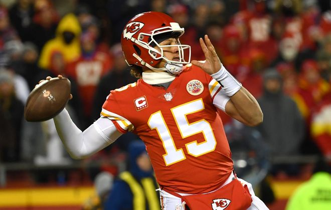 Kansas City Chiefs quarterback Patrick Mahomes. (Getty Images file photo)