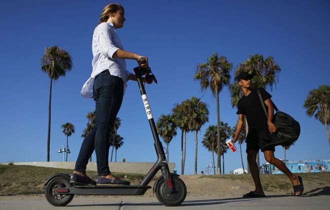 Gov. Andrew Cuomo should be sure legislation allowing the use of electric scooters and bikes protects the safety of all concerned before signing it. (Getty Images)