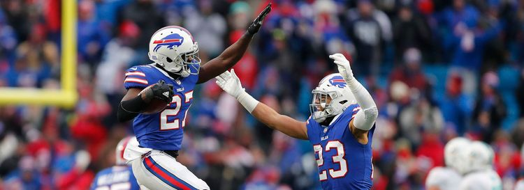 Tre'Davious White and Micah Hyde are two of the Bills' good value players. (Mark Mulville/News file photo)