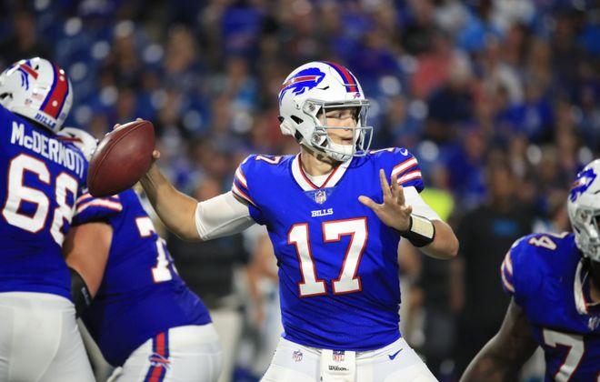 Bills quarterback Josh Allen has plenty to prove in his second year. (Harry Scull Jr./News file photo)