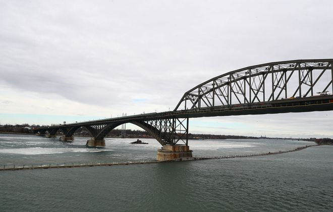 Tim Clutterbuck, a Welland steel executive, has been named chairman of the binational panel governing the Niagara River span between New York and Ontario. (News file photo)