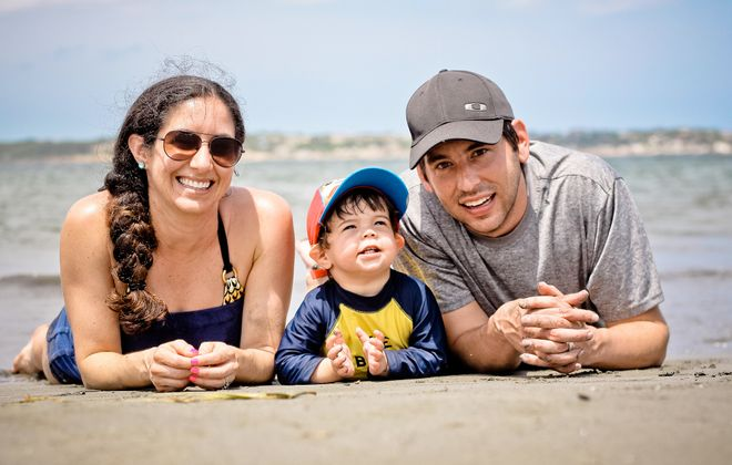 Jason Lang recently funded a trip to Colombia with his wife, Jennifer and son, Porter—all on credit card points. (Jason Lang)