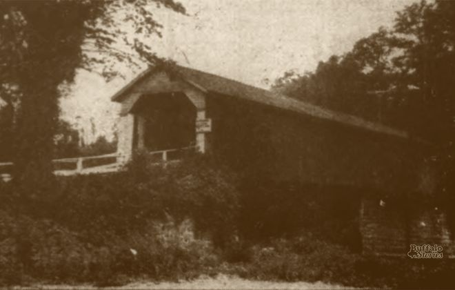 Torn-Down Tuesday: In West Seneca, the last covered bridge in Erie County