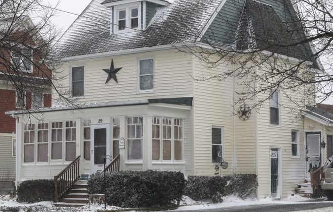 Maureen Szwaczkowski ran an illegal day care for years in her home at 29 Buckland Ave. in Perry, according to the State Attorney General's Office. (Derek Gee/Buffalo News)