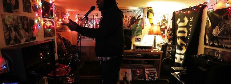 Buffalo rapper Mad Dukez.  (Mark Mulville/Buffalo News file photo)