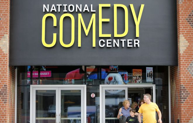 The National Comedy Center in Jamestown opened in 2018. (Mark Mulville/Buffalo News file photo)