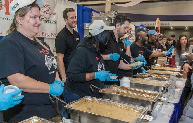 Joe's Deli won the Foodies' Choice award at Buffalo Soup-Fest 2019. (Don Nieman/Special to The News)