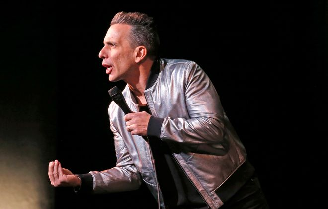 Comedian Sebastian Maniscalco opened his run at Shea's Performing Arts Center on Friday.  (Robert Kirkham/Buffalo News)