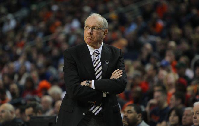 Syracuse coach Jim Boeheim. (Mark Mulville/News file photo)