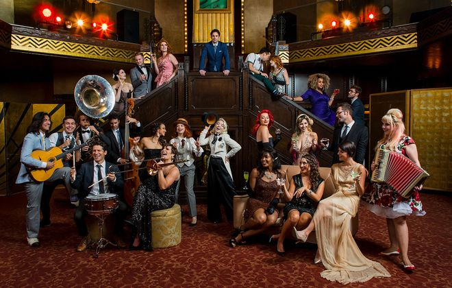 Scott Bradlee's Postmodern Jukebox. (Dana Lynn Pleasant)