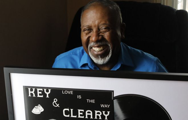 """Sylvester Cleary said, of the release of his music with Jesse Key nearly a half-century ago: """"It is the greatest feeling of freedom, joy, and love I've ever felt in my life."""" (Derek Gee/Buffalo News)"""
