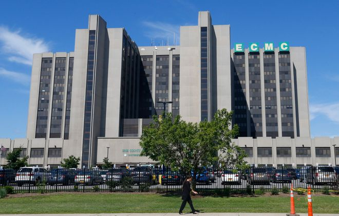 ECMC has raised more than $10.2 million in private funds to support a hospital project. (News file photo)