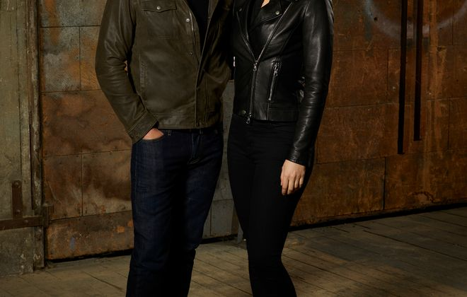 """ABC's """"Whiskey Cavalier"""" stars Scott Foley as Will Chase, and Lauren Cohan as Frankie Trowbridge. (ABC/Craig Sjodin)"""