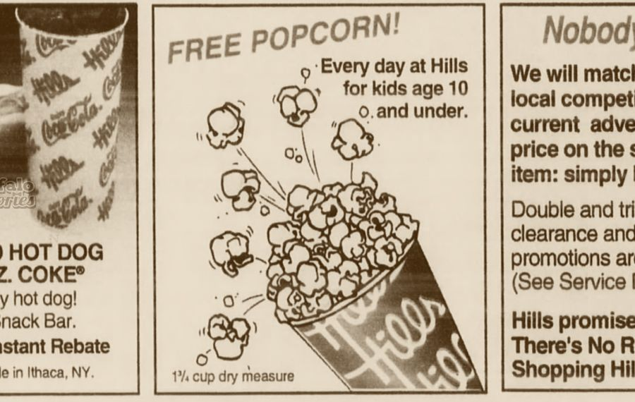 From a 1993 Hills circular.