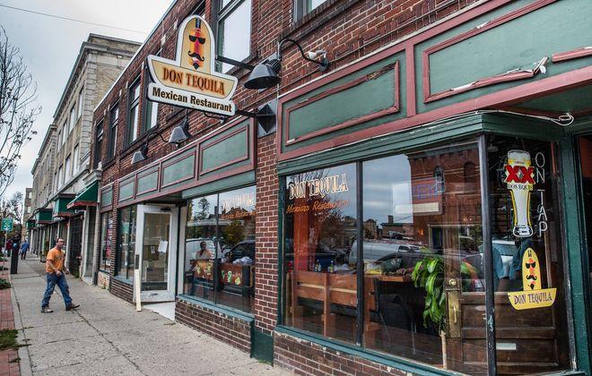 Don Tequila restaurant on Allen Street in Buffalo, Tuesday, Oct. 18, 2016.  (Derek Gee/Buffalo News)