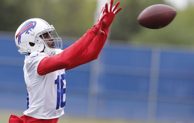 WR Robert Foster: One could argue Foster broke out in the second half of 2018, when he became the first undrafted rookie in the common draft era (since 1967) to have three 100-yard receiving games. (Mark Mulville/Buffalo News)