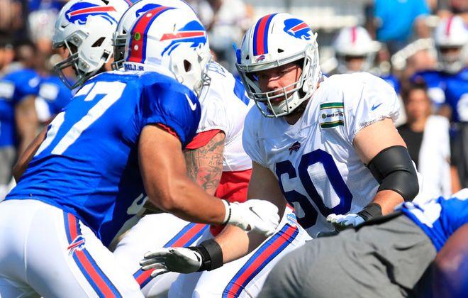 Bills center Mitch Morse. (Harry Scull Jr./Buffalo News)