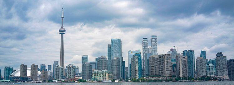 The Toronto skyline. (Derek Gee/Buffalo News)