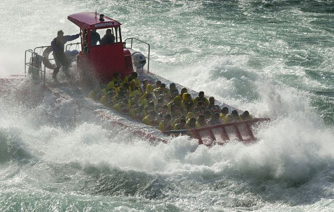 For some summer adventure, try a ride through the Niagara Gorge on a Whirlpool Jet boat. (News file photo)