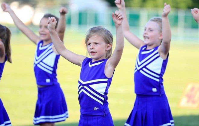 Seven-year-old Alyssa Hearn, middle, died Nov. 4, 2016.  (Harry Scull Jr./News file photo)