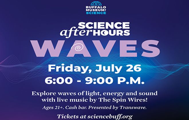 Rock out with grownup fun at the Buffalo Museum of Science