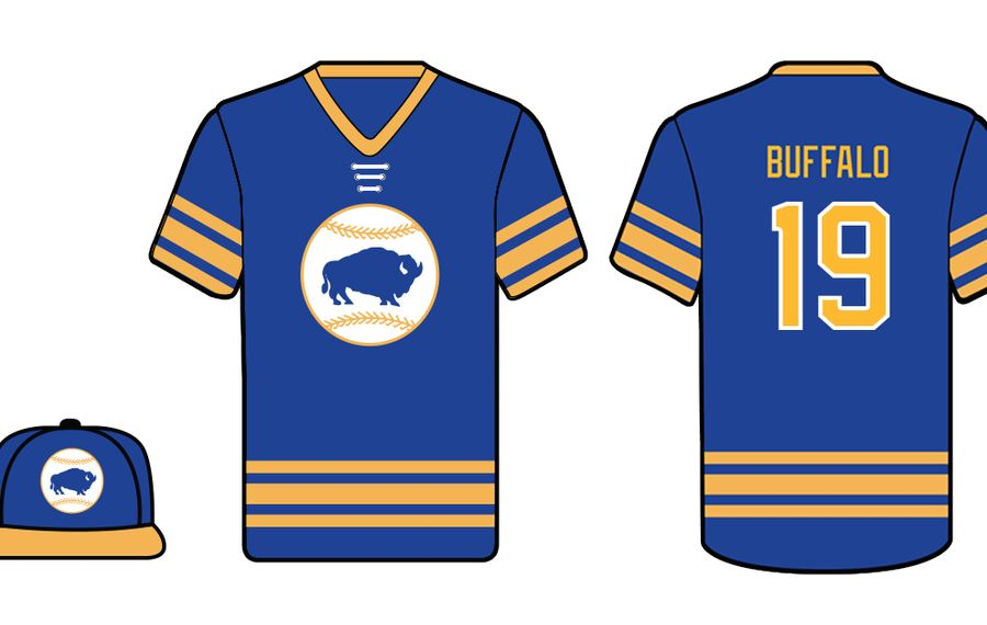 Bisons to don Sabres' blue and gold for hockey night