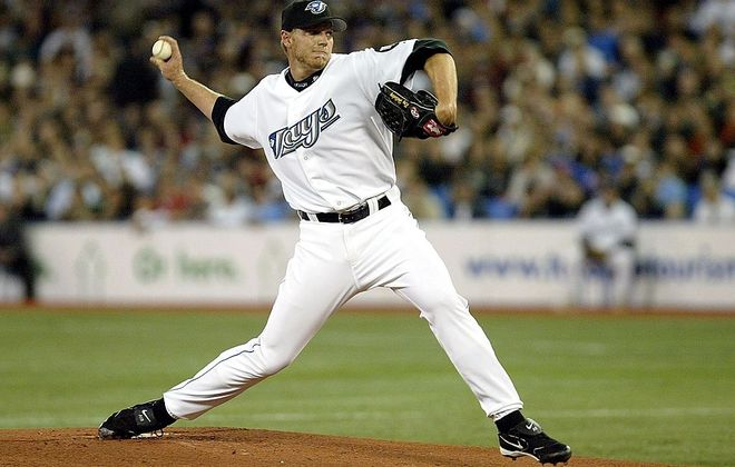 The late Roy Halladay went 130-69 during his dominant stretch for the Toronto Blue Jays from 2002-2009 (Getty Images).