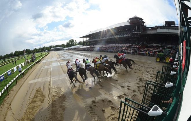 Saratoga Race Course opens on Thursday. (Adam Mooshian/NYRA)