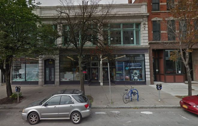 The former Hyatts – All Things Creative store on Main Street has been acquired by Greenleaf & Co. (Google)