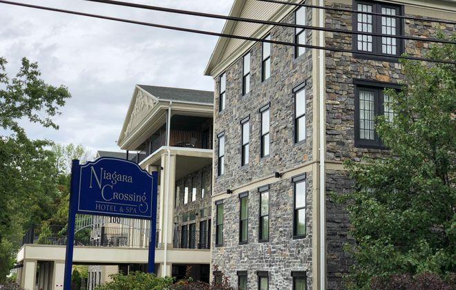 Niagara Crossing Hotel & Spa in Lewiston. (Courtesy of Rudra Management)