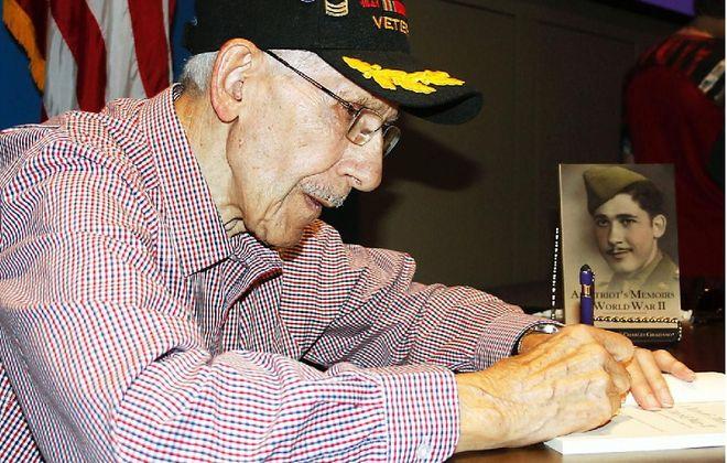 "East Aurora native and World War II veteran Luciano ""Louis"" C. Graziano. (Courtesy of Abilene Reflector-Chronicle)"
