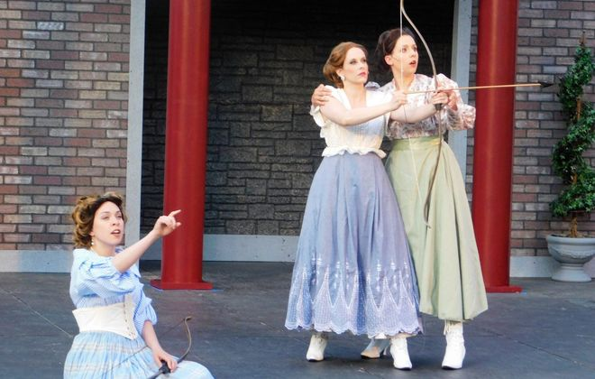 """A vibrant cast is one of the many positive aspects of  """"Love's Labour Lost"""" at Shakespeare in Delaware Park."""