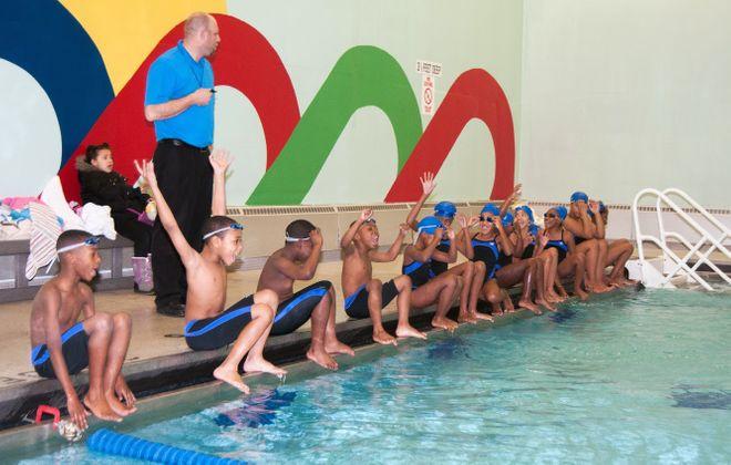 Buffalo City Swim Racers has been teaching public school students to swim since 1997. (Courtesy Ned Miller, EM Photo Design)