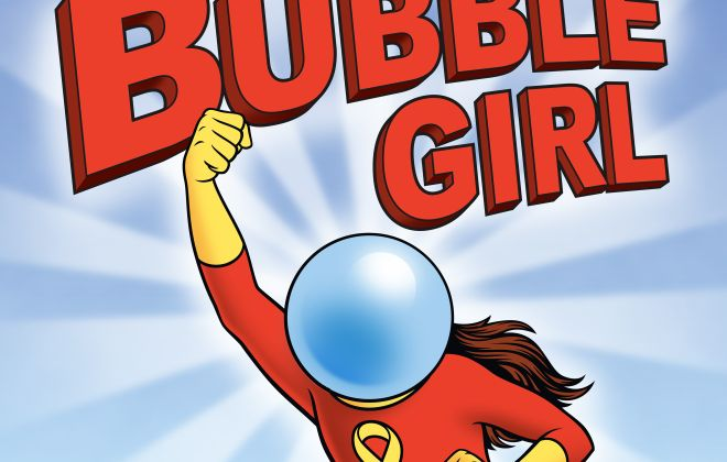 "This detail is from the ""Bubble Girl"" movie poster, directed by Peter McGennis."