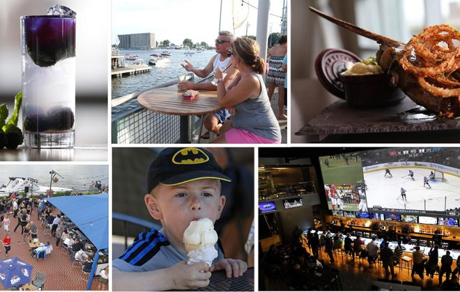 Buffalo's waterfront is booming with food and drink options within walking distance of the Tall Ships. (News file photos)