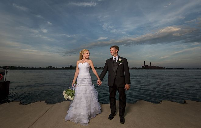 North America's oldest boating club is the perfect spot for nautical nuptials