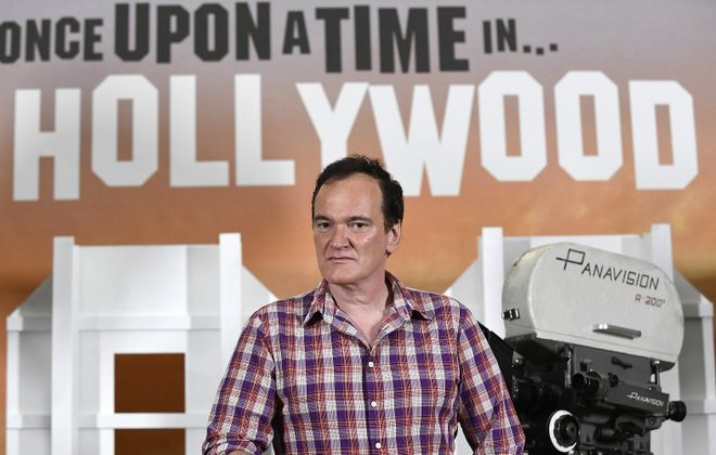 "Jeff Simon writes that Quentin Tarantino ""has just made the film I've been hoping he'd find his way to for a couple decades now, 'Once Upon a Time in Hollywood.'"" (Photo by Kevork Djansezian/Getty Images)"