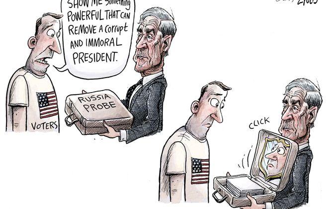 Mueller findings: March 31, 2019