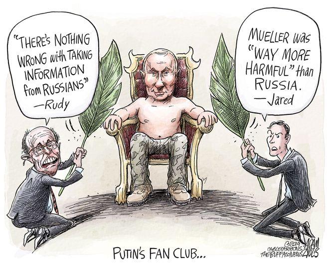 Russian meddling: April 27, 2019